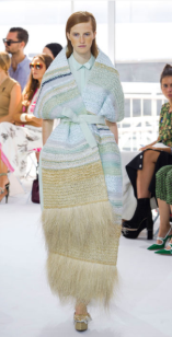 DELPOZO Josep Font's idea of the bohemian free spirit is combined with schooling in couture and a muse for architecture.