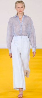 """EMILIA WICKSTEAD Probably the most similar to everyday apparel, the collection has presence as it encompasses wit, quality, and is ultimately chic. The designs have been worn by the Duchess of Cambridge and former British First Lady Samantha Cameron - """"High class, call it."""" The collection features subtle luxury with light shades and tamed prints. The use of chiffon is elaborate."""
