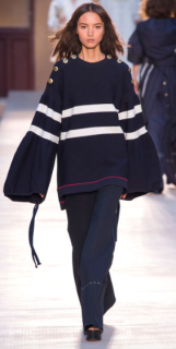 """SONIA RYKIEL De Libran let smart meet stylish eccentrics in his """"of-the-moment"""" designs - featuring bohemian tunics, classic mariner sweaters and wide-leg trousers for the ultimate comfort."""