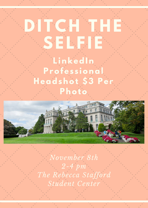 LinkedIn Professional Headshot Flyer