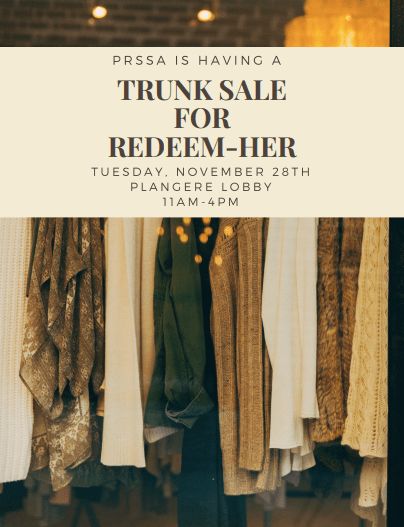 Trunk Sale Flyer