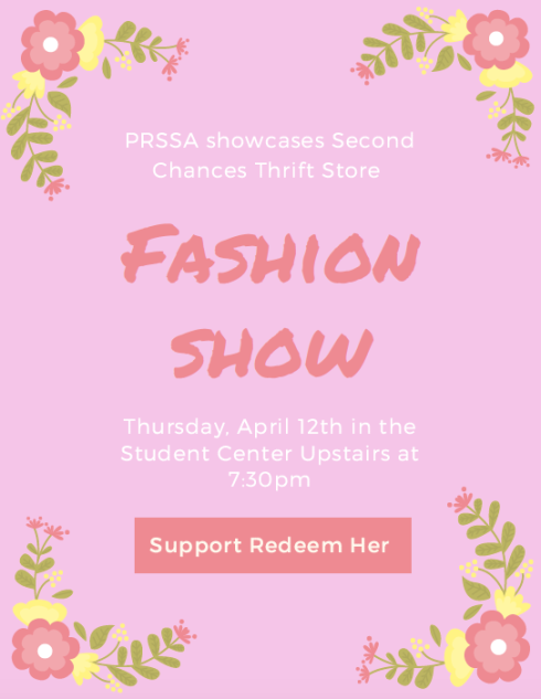 Redeem-Her Fashion Show Flyer