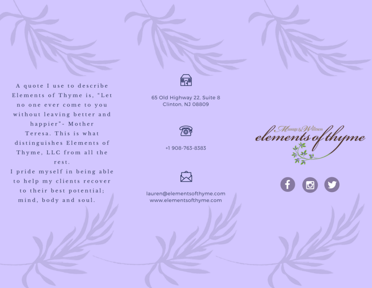 Trifold Brochure Cover