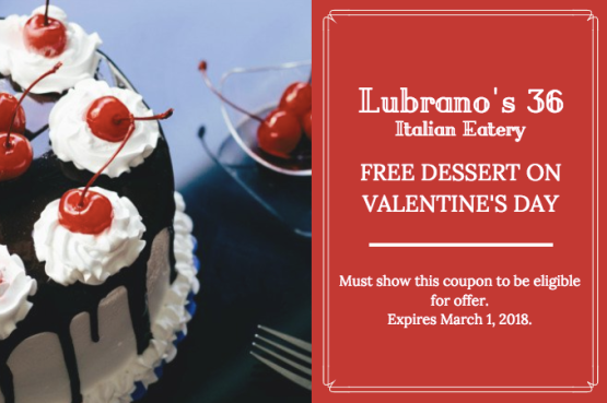 Valentine's Day Coupon