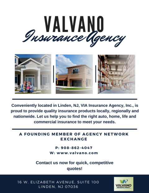 Valvano Insurance Agency Flyer