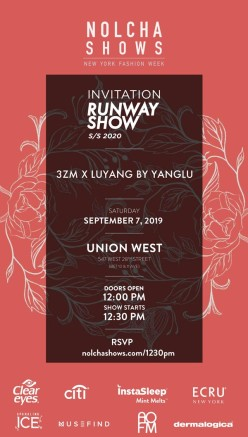 Invite :: 3ZM x Luyang by Yanglu