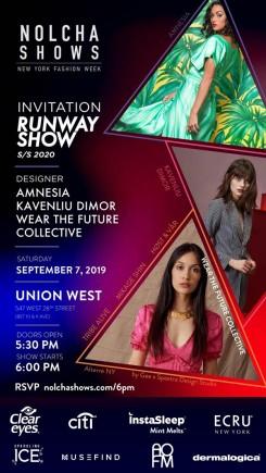 Invite :: Amnesia, Kaven, WearTheFuture, Collective