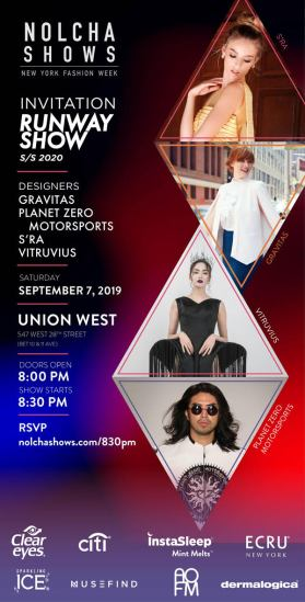Invite :: Gravitas, PlanetZero, S'RA, Vitruvius